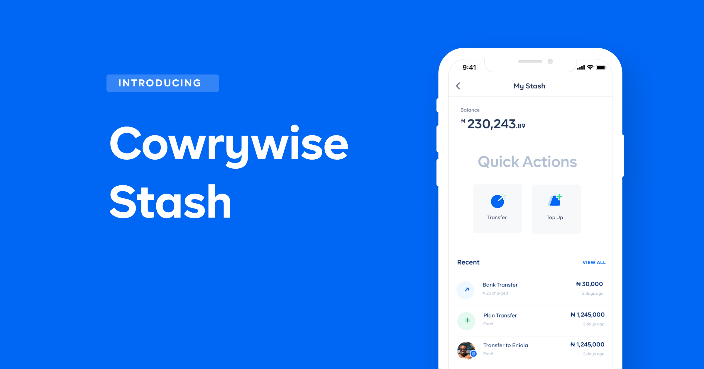 Introducing Stash: More Options To Fund Your Cowrywise Plans