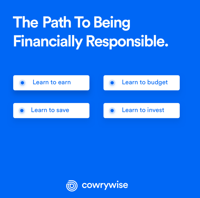 financially-responsible-cowrywise-nigeria