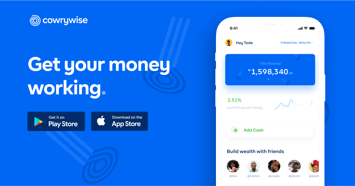The Smart Way to Plan, Save and Invest Online - Cowrywise